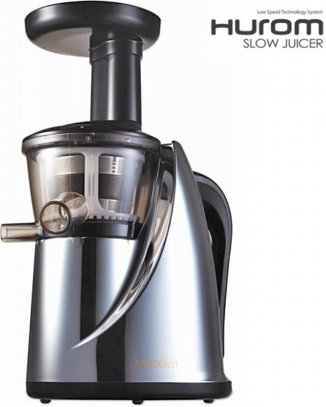100 Gourmet Recipes For The Slow Juicer : Hurom Slow Juicer HU-100 kainos Kaina24.lt