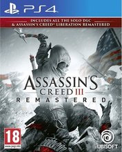 Assassin's Creed III and Liberation Remastered PS4